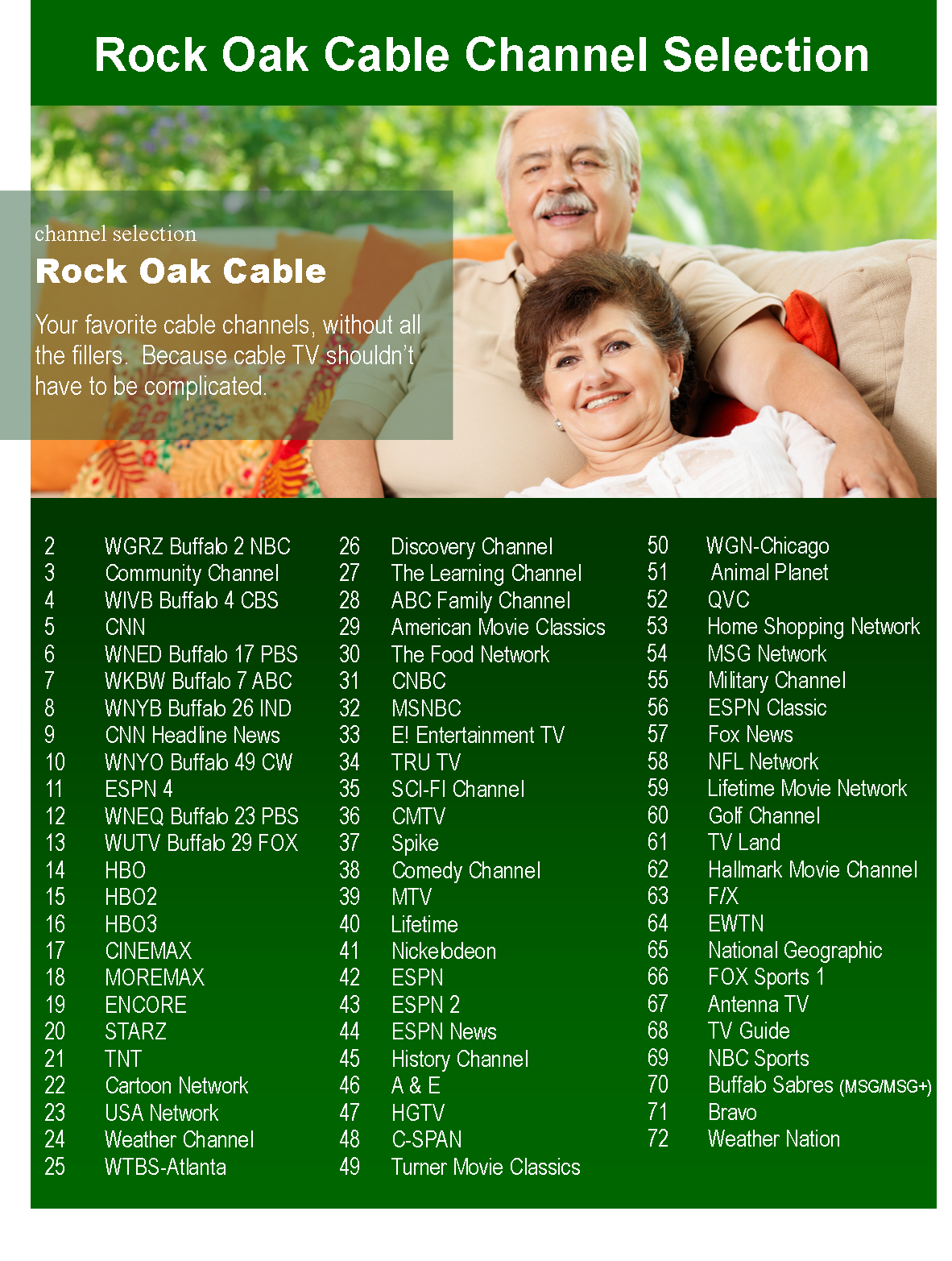 Rock Oak of Clarence-Cable